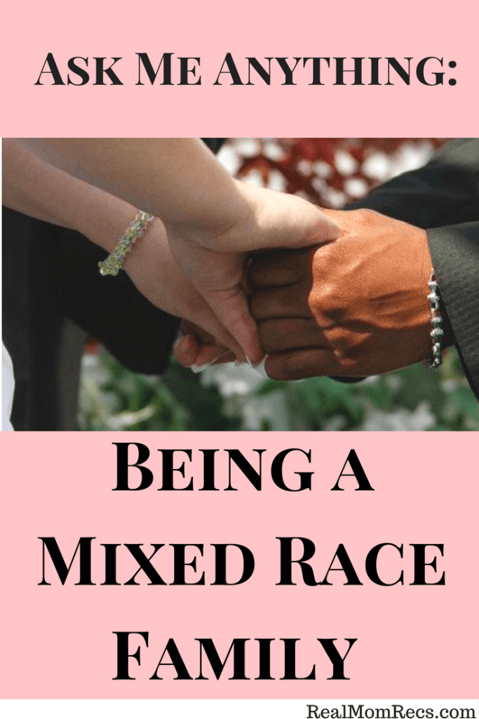 being a mixed race family