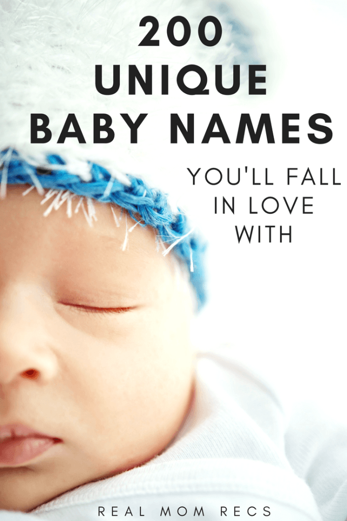 Unique baby names youll fall in love with real mom recs unique baby names negle Image collections
