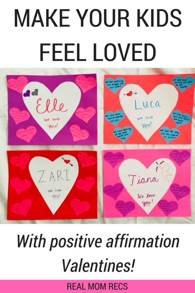positive affirmation Valentines