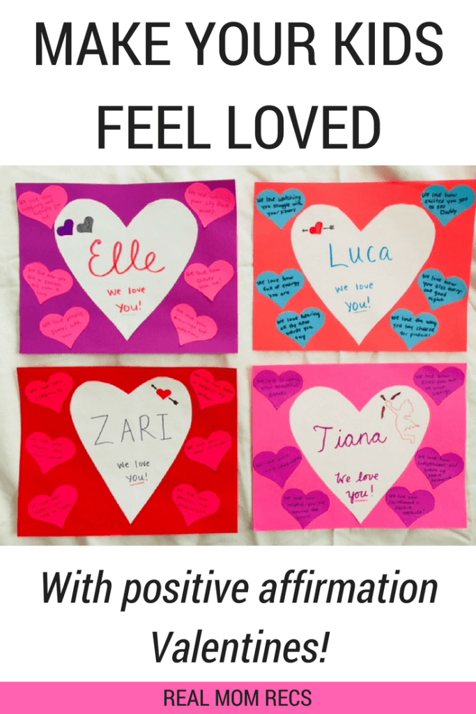 Make Your Kids Feel Loved With This Simple Valentine S Day Craft