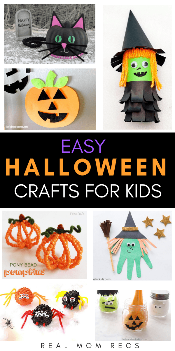 easy halloween crafts for kids real mom recs