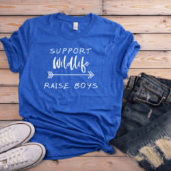 Support Wildlife, Raise boys