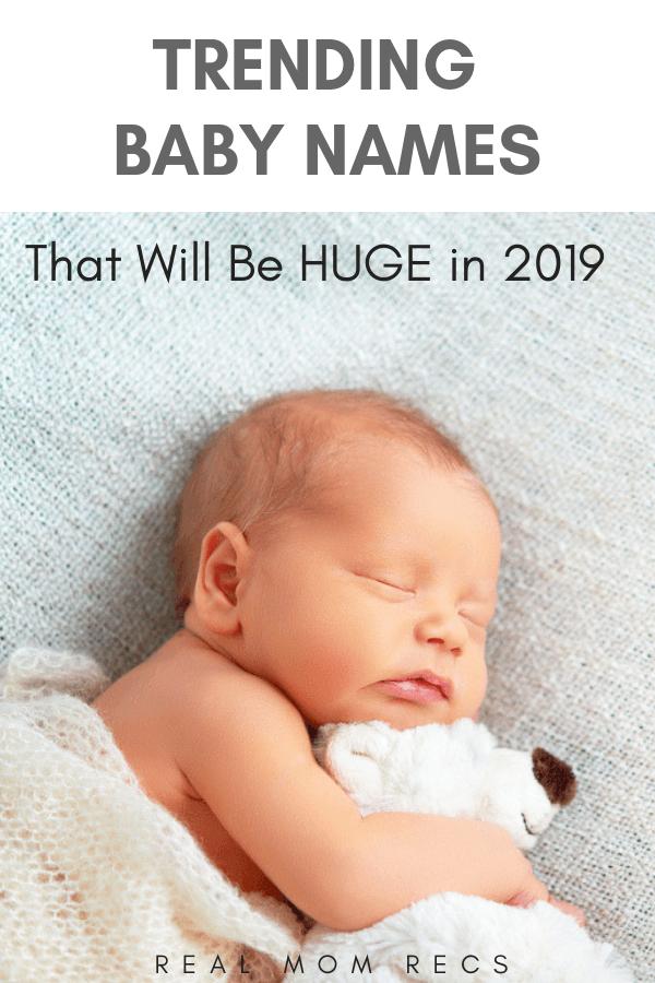 Trending baby names