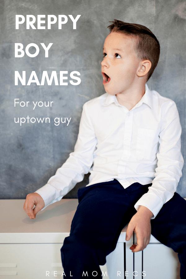 Preppy boy names