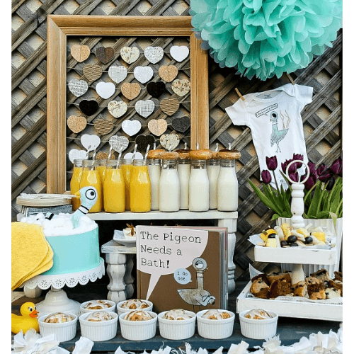 book theme baby shower