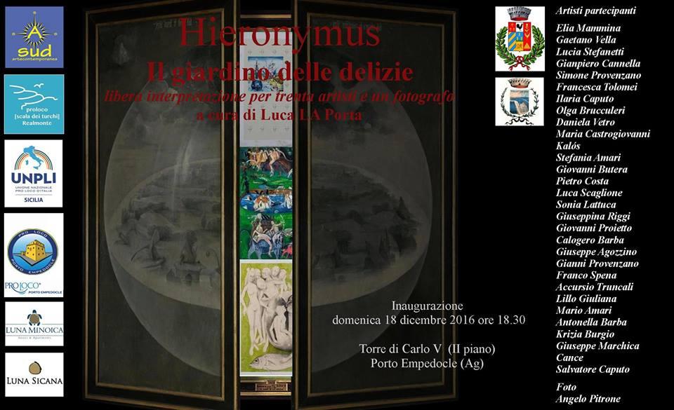 Hieronymus - Il giardino delle delizie - Locandina
