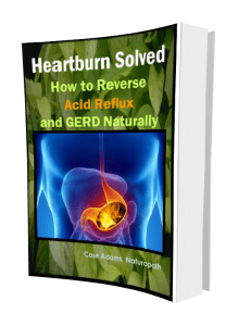 Heartburn solved by Case Adams Naturopath
