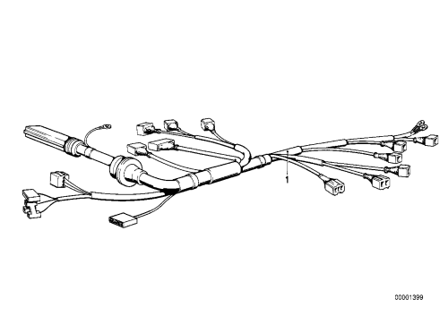 small resolution of engine wiring harness