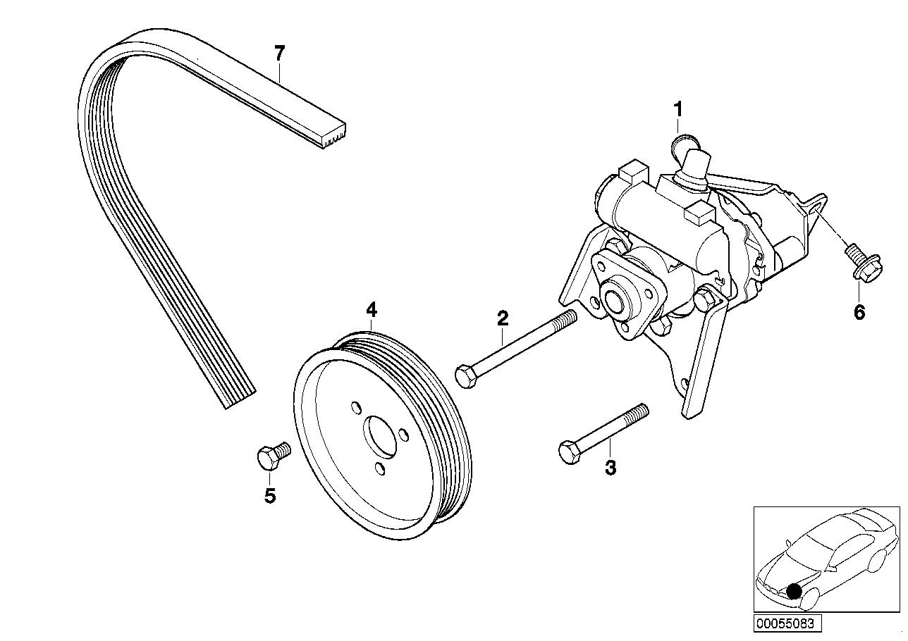 Power steering bmw