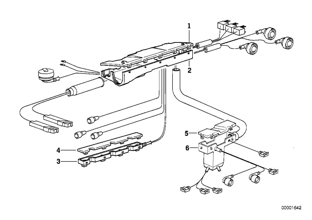 medium resolution of realoem com online bmw parts catalog bmw e36 engine wiring harness