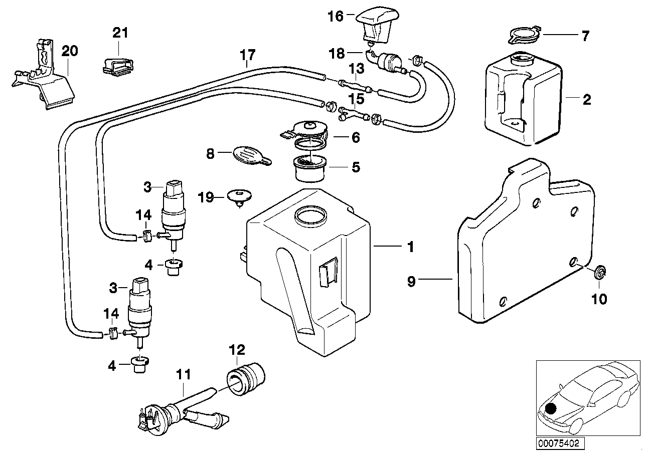 Need A Fuse Box Diagram Electrical Problem 1997 Volkswagen