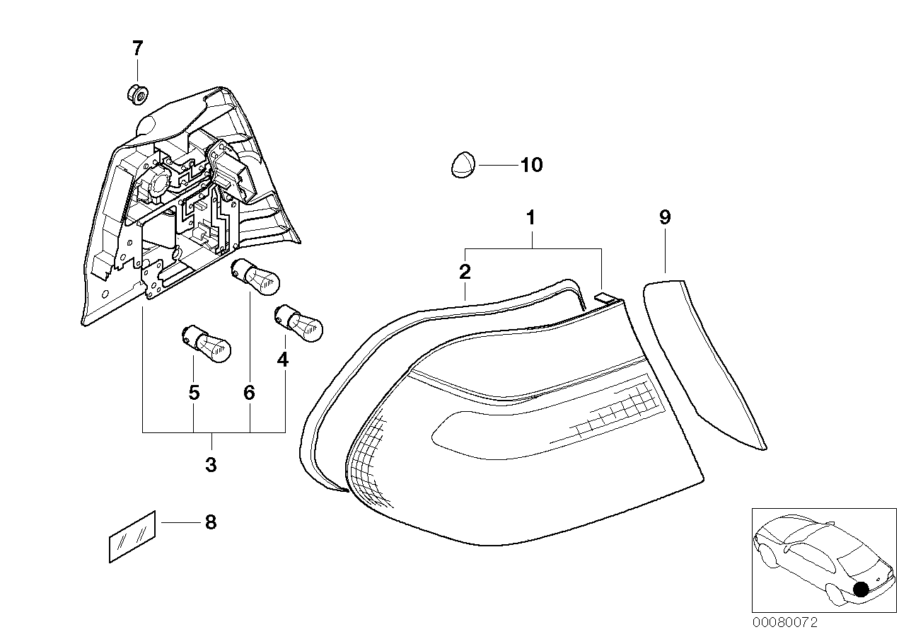 complete parts diagram e46 meter box wiring nz realoem online bmw catalog