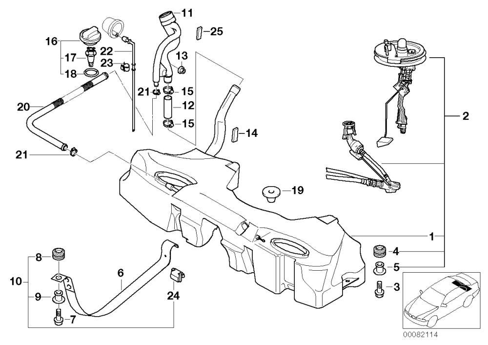medium resolution of it s 22 in this diagram perhaps the gas tank is filled to overflowing