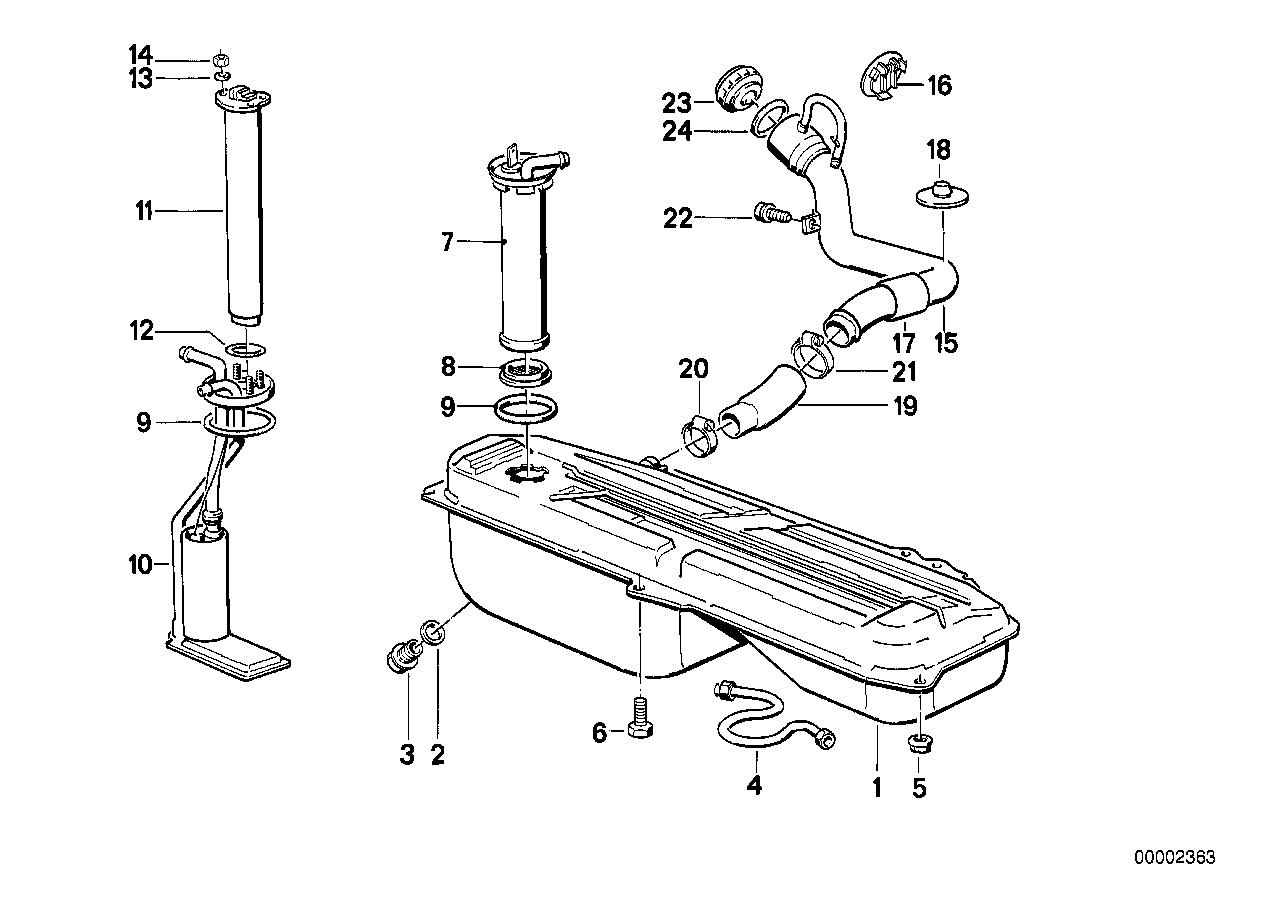 hight resolution of realoem com online bmw parts catalog bmw gas tank diagram