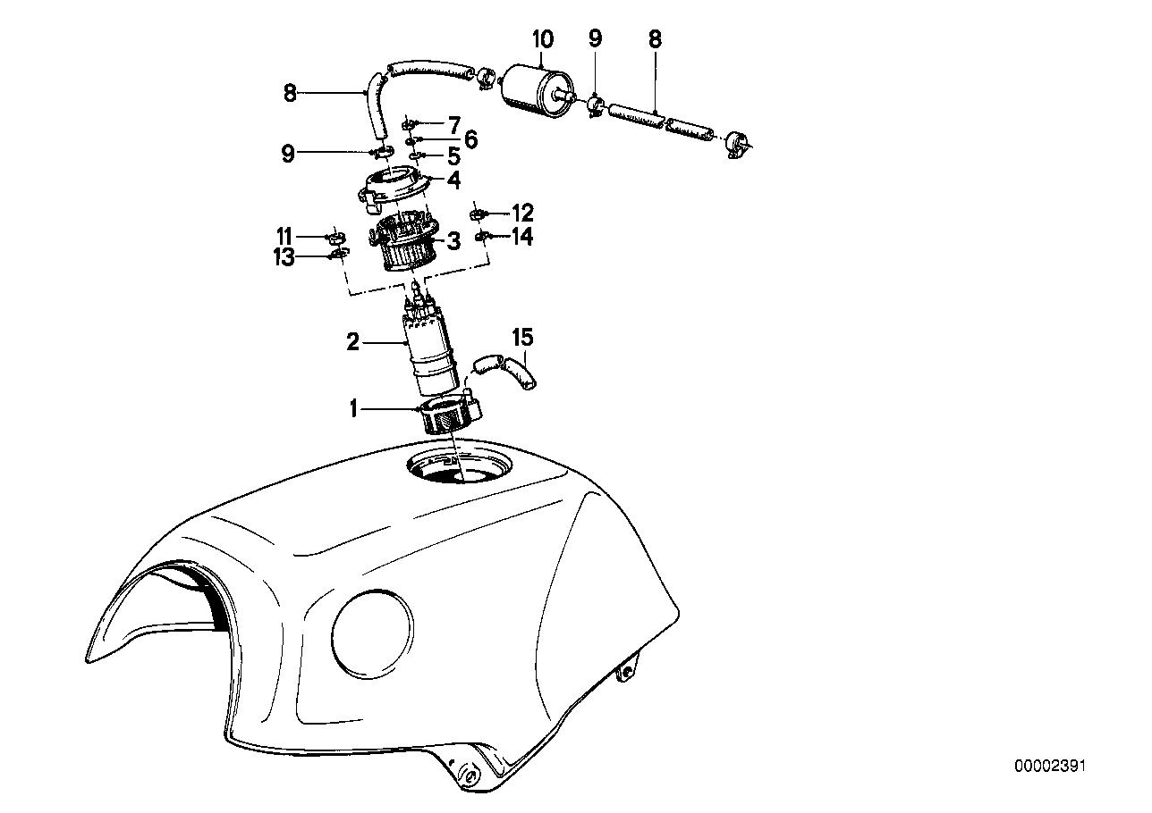 K100 Fuel Pump Filter