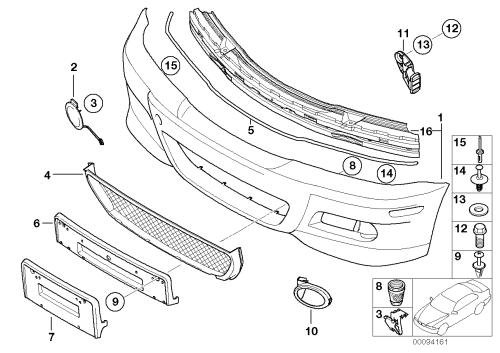 small resolution of 2001 bmw 325i bumper diagram imageresizertool com