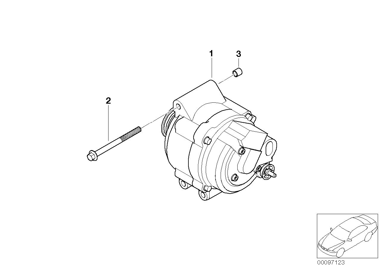 hight resolution of alternator 110a
