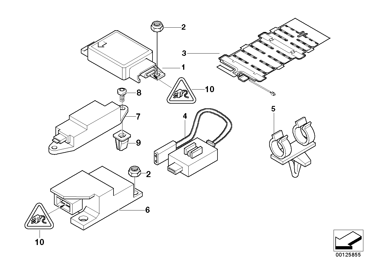 [WRG-1615] Air Bag Schematics Seat Sensor