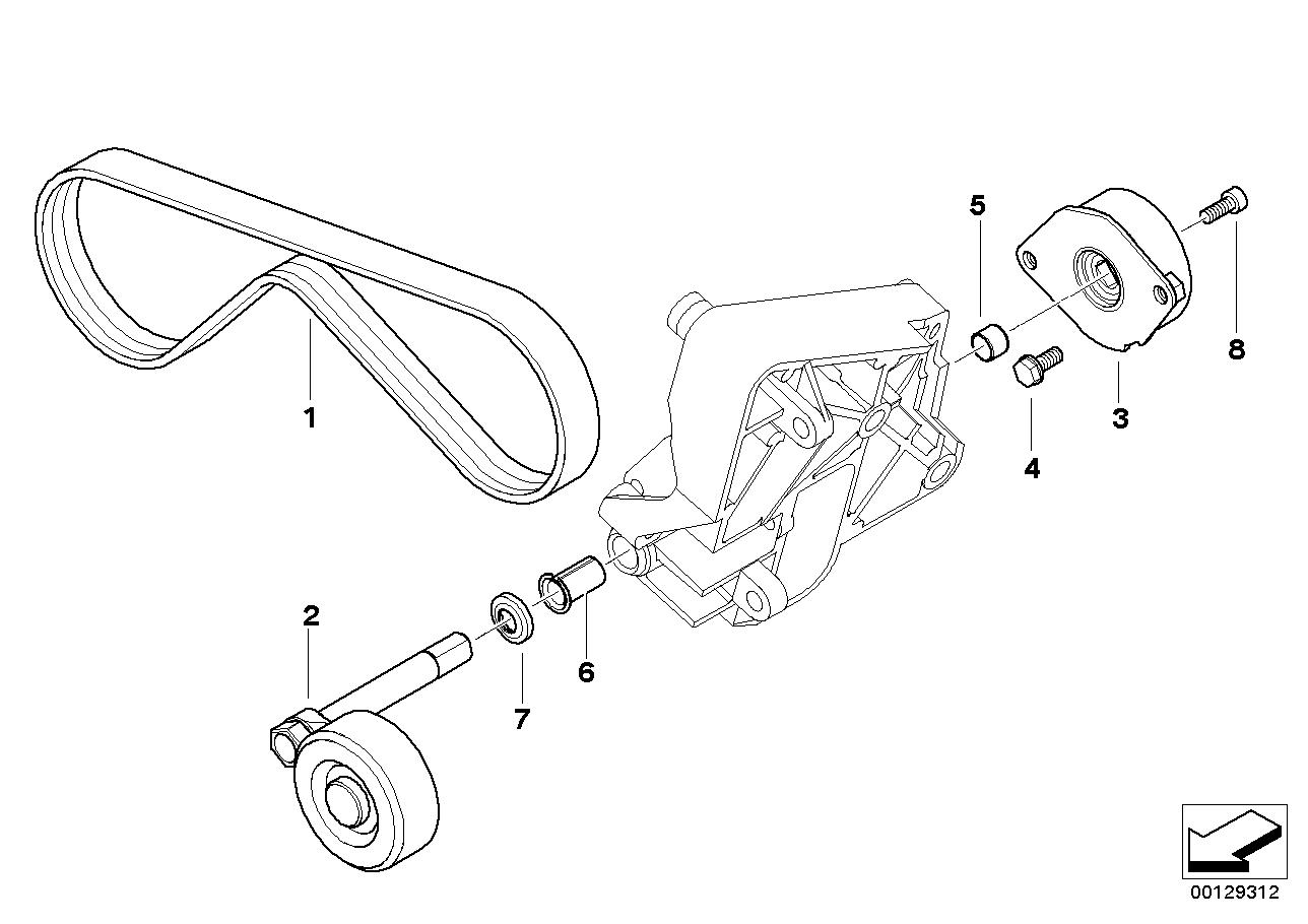 tags: #2007 bmw 328i belt tensioner#bmw tensioner replacement#bmw fan belt#idler  pulley belt tensioner#seat belt tensioner replacement#drive belt tensioner