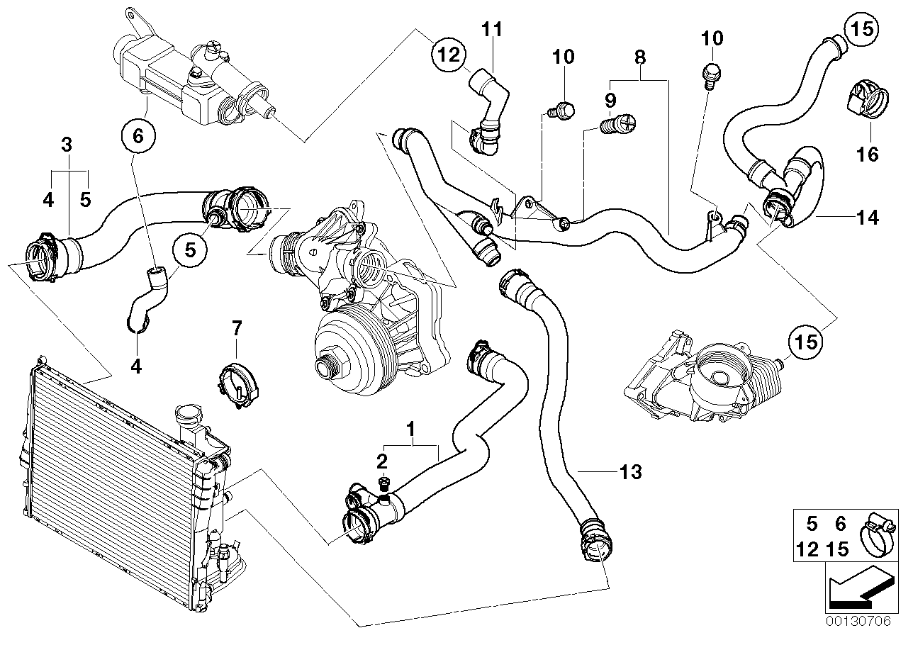Bmw E46 Engine Diagram Cooling System Wiring Diagram For Free