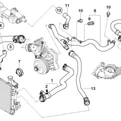 Bmw E46 Radiator Diagram Star Delta Wiring Explanation Engine Cooling System  For