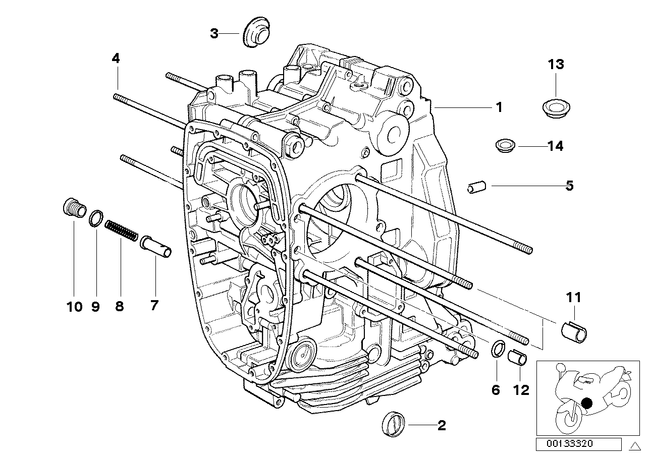 hight resolution of engine housing