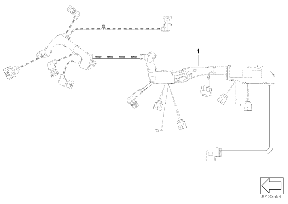 medium resolution of 1 e87 120i wiring harness engine ignition module