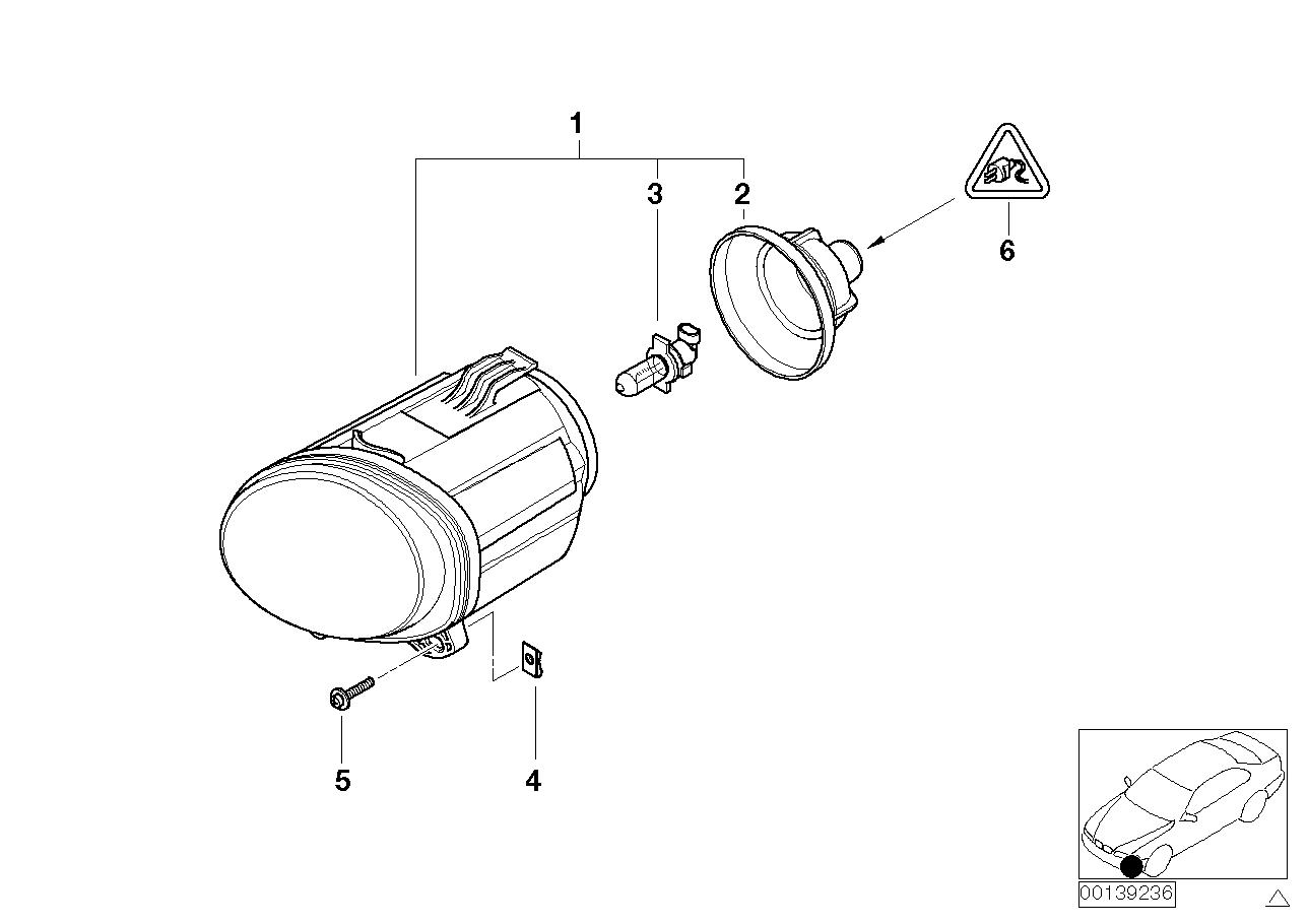 Led Mistlampen H11 Bmw E53