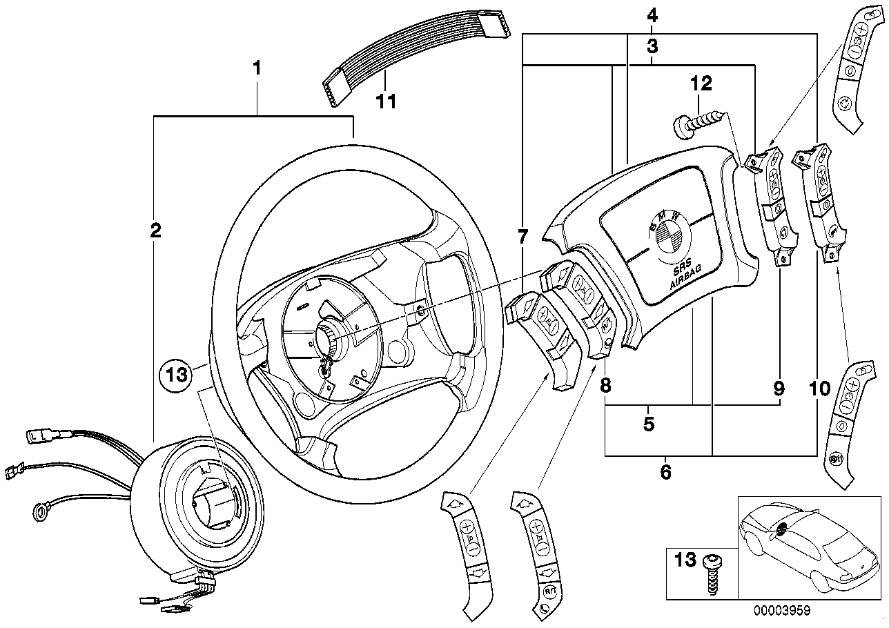 Bmw convertible bmw steering wheel parts realoem online bmw parts catalog