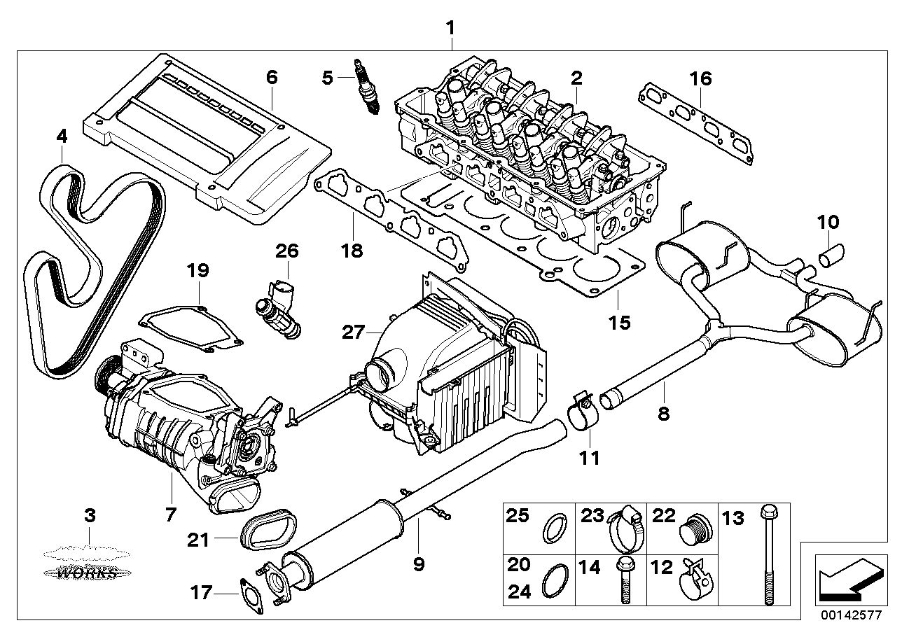 Mini Cooper Engine Diagram