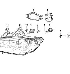 realoem com online bmw parts catalog halogen headlight diagram [ 1288 x 910 Pixel ]