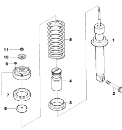 rear spring strut coil spring and parts [ 1288 x 910 Pixel ]