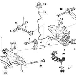 Bmw E39 Suspension Diagram Start Stop Control Wiring Diagrams Z3 Rear End  Edmiracle Co