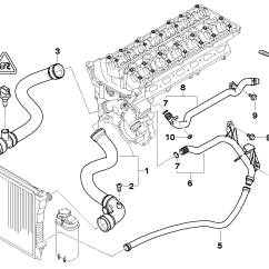 Bmw E46 Radiator Diagram 2003 Volvo Xc90 Stereo Wiring Coolant 19 Images