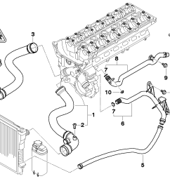 bmw e46 cooling system diagram [ 1288 x 910 Pixel ]