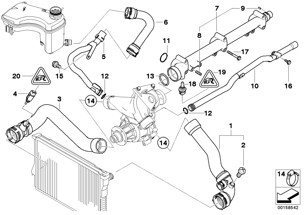 medium resolution of e46 cooling system diagram wiring diagram blog bmw e46 n42 cooling system diagram e46 cooling system diagram