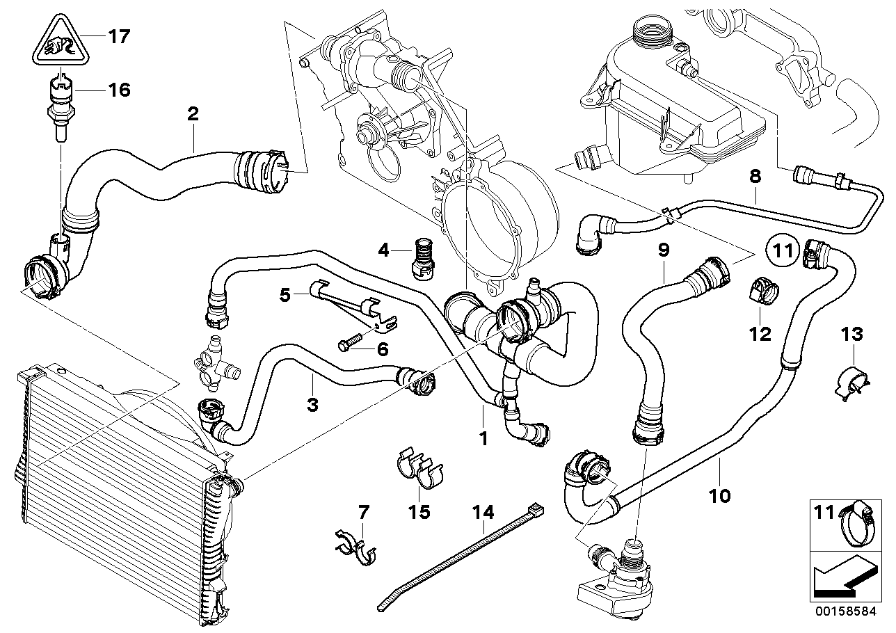 Bmw 325i Engine Component Diagram