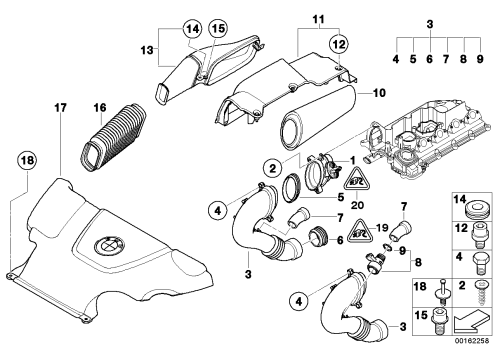 small resolution of bmw e46 air intake diagram wiring diagram blog bmw e46 air intake diagram