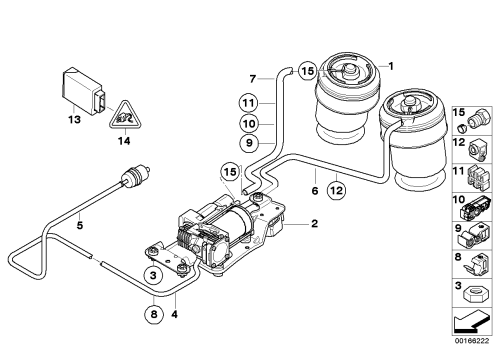small resolution of bmw air suspension diagram wiring diagram img bmw x5 air suspension diagram on 05 bmw x5 rear suspension diagram