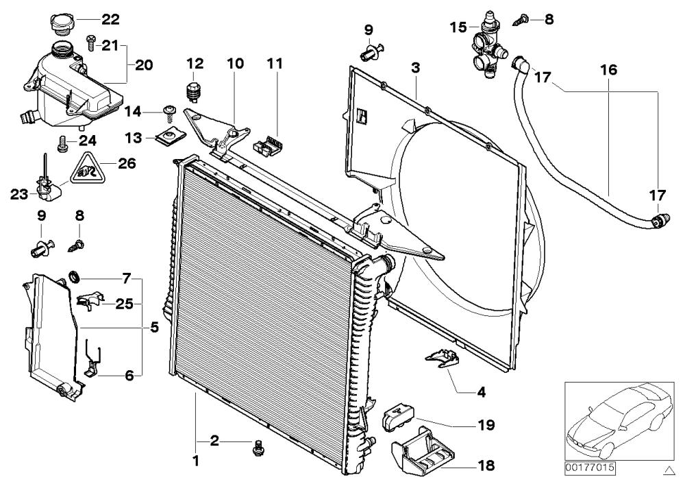 medium resolution of radiator expansion tank frame