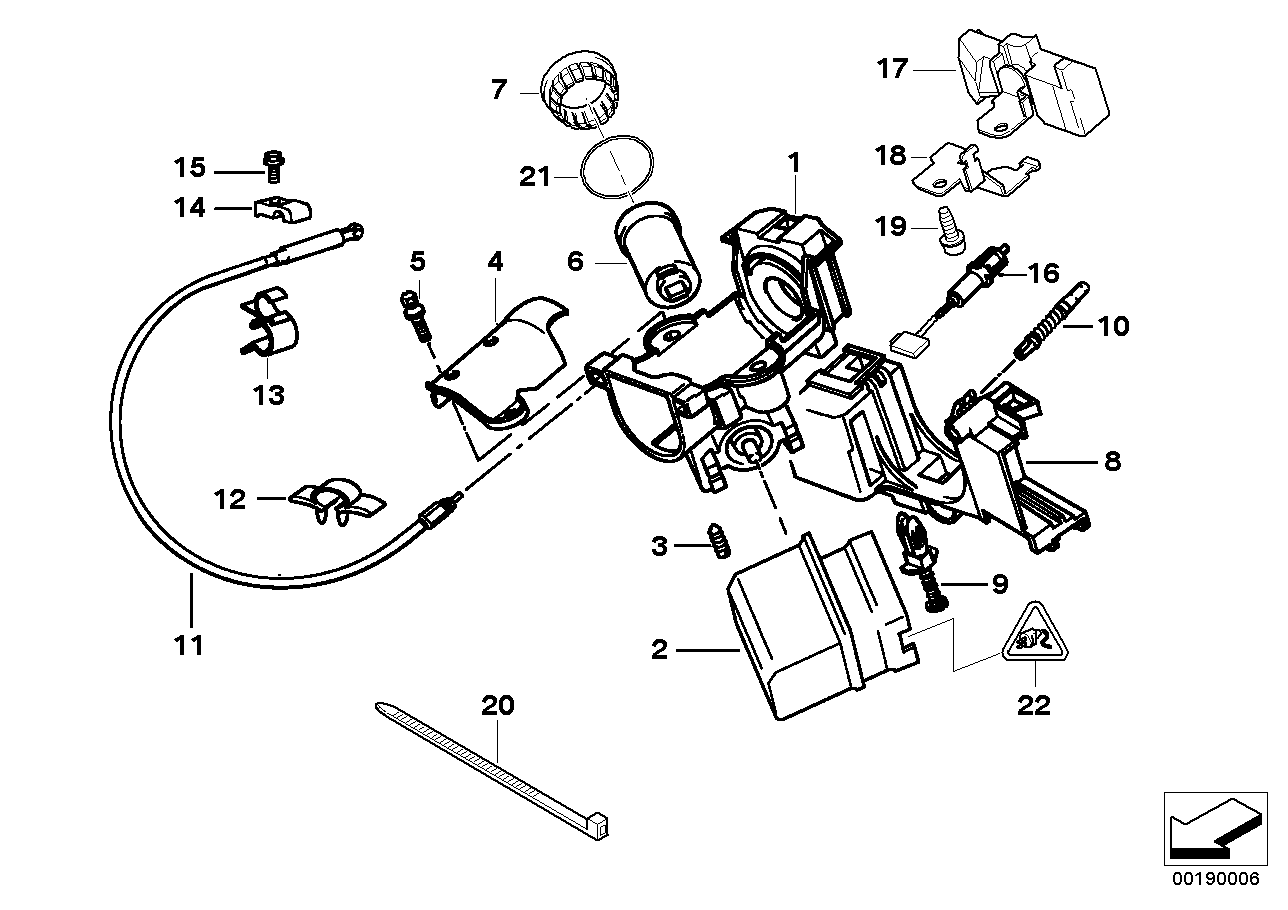 hight resolution of steering lock ignition switch