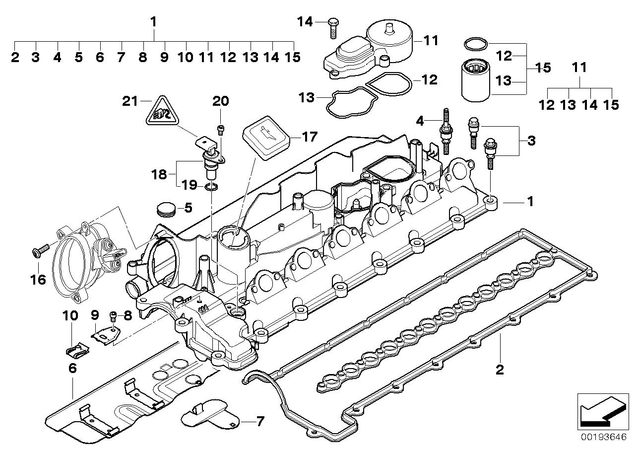 E39 Parts Diagram