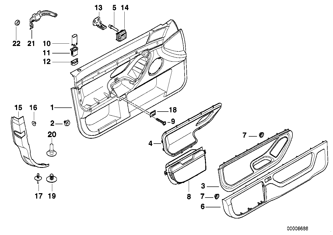 Bmw Parts Catalog Reference