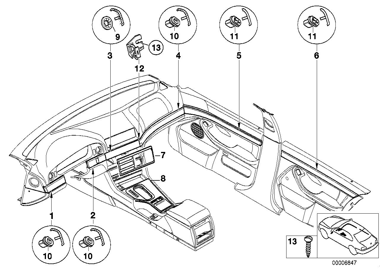 Bmw Interior Parts Online