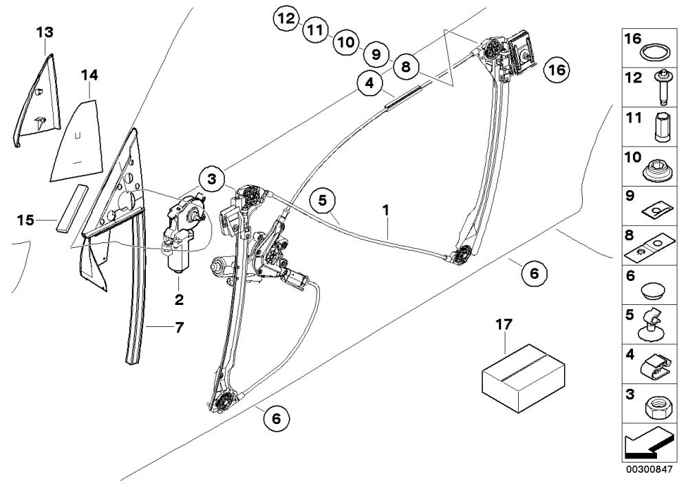 medium resolution of bmw e46 door diagram