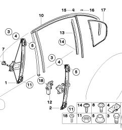 door window lifting mechanism rear [ 1288 x 910 Pixel ]