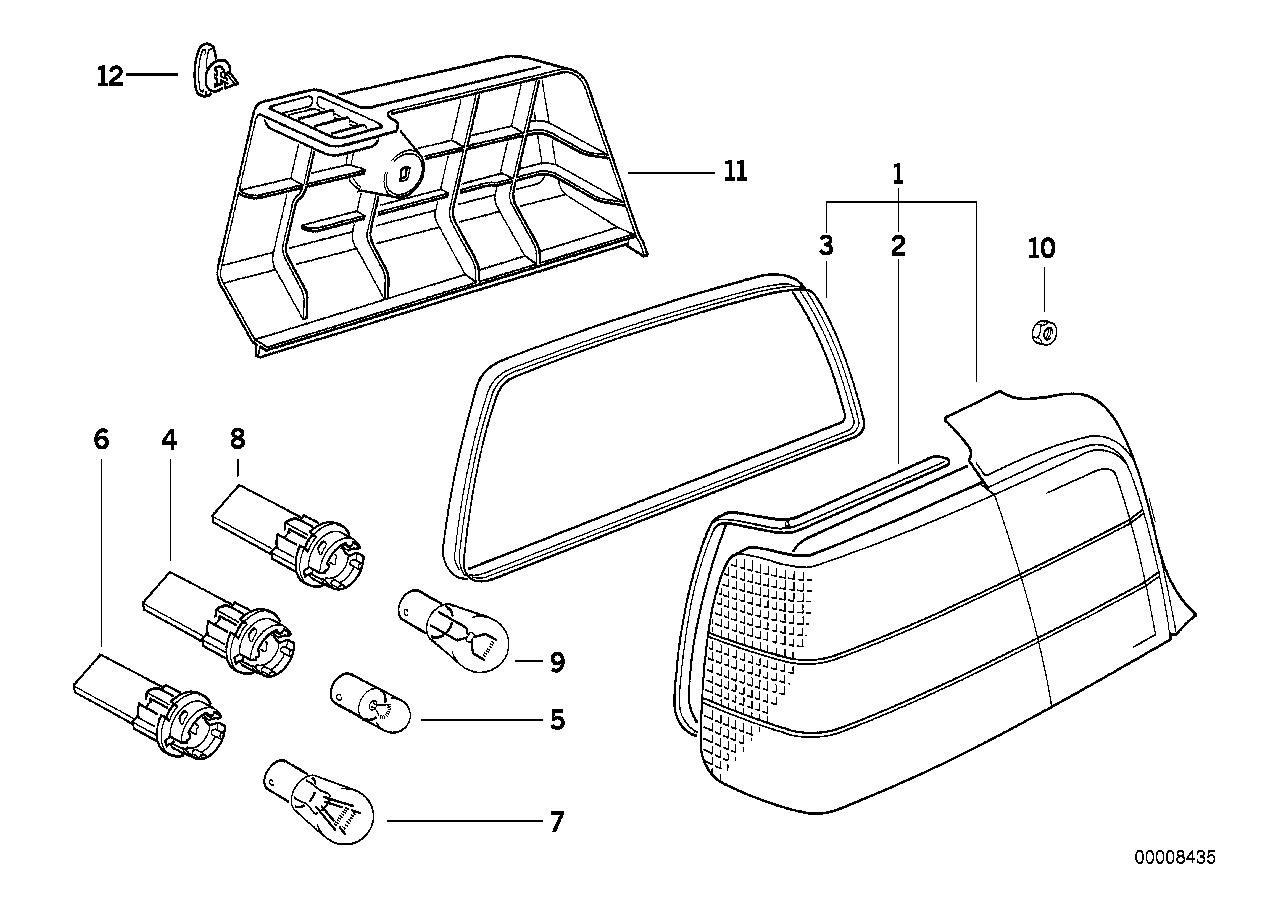 Youan: E36 M3 Tail Light Bulbs