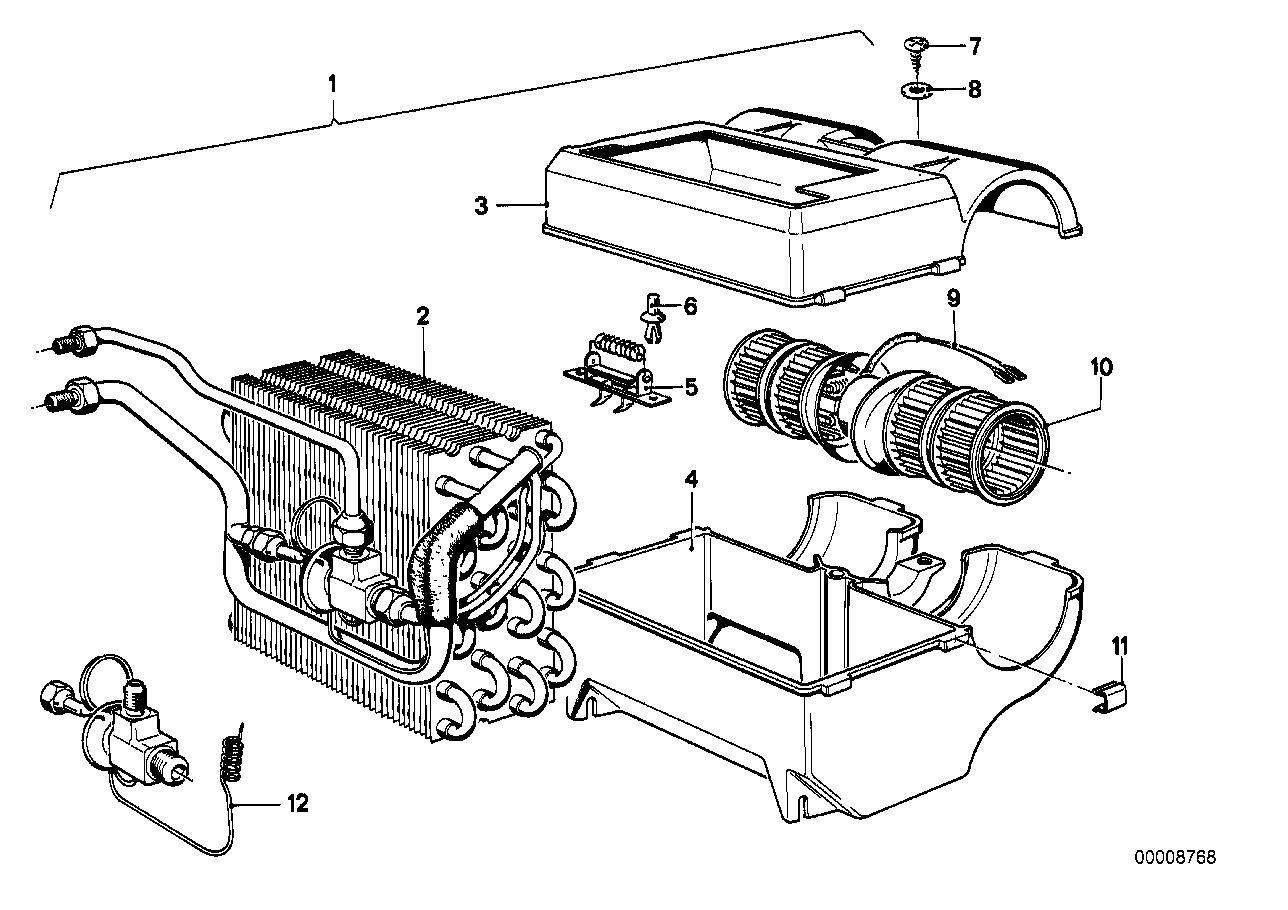 Evaporator Pipe