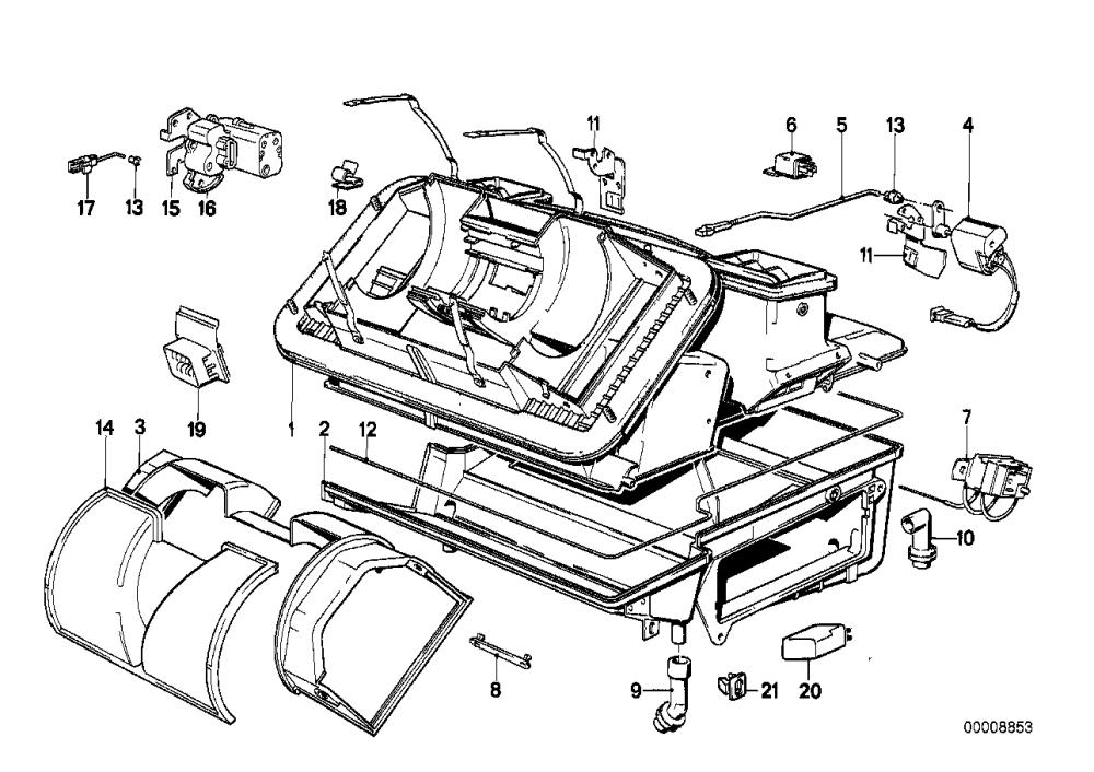medium resolution of air conditioning unit parts
