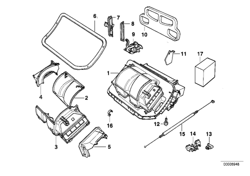 small resolution of housing parts air conditioning